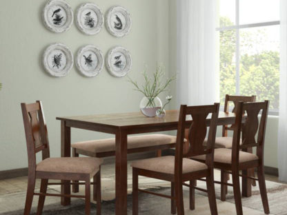 Solid Wood Dining Chair  6 Seater