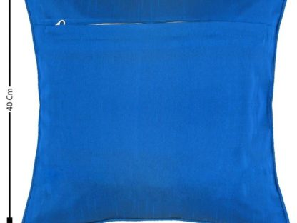 Solid Cushions Cover Blue